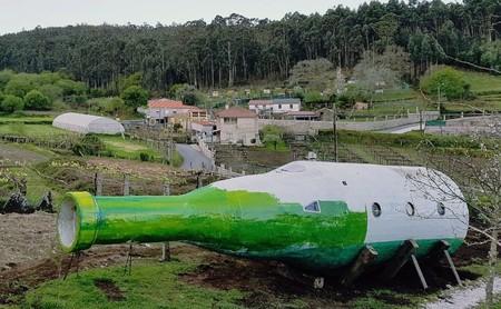 Casa Rural Galicia Botella Vino