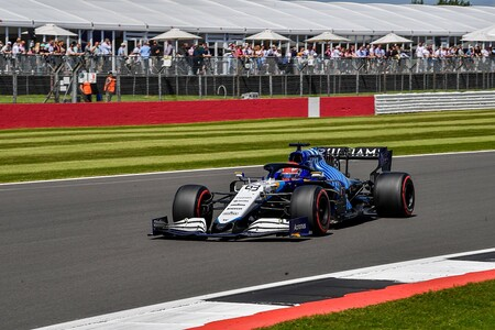 Russell Silverstone F1 2021