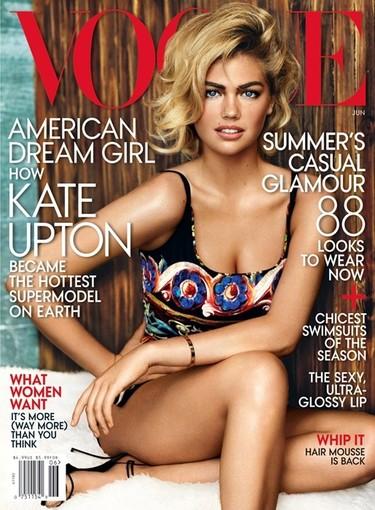 Vogue se rinde a los encantos de Kate Upton, ¿y quién no?