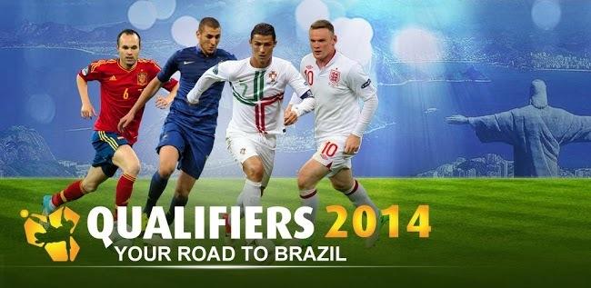 Clasificación de UEFA para la Copa Mundial de Fútbol de 2014