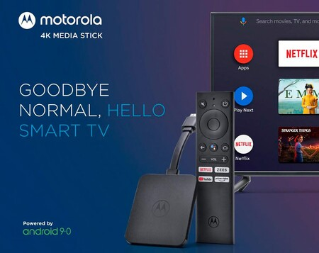 Motorola 4k Android Tv Stick 2