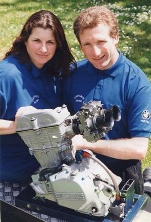 David y Alison Morris