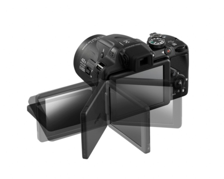 Nikon CoolPix P520 pantalla abatible