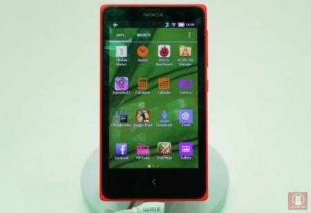 Avistado un Nokia X con Nova Launcher en MWC