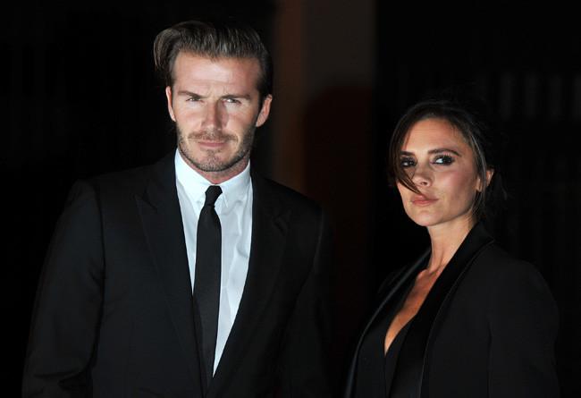 David y Victoria Beckham Londres fiesta