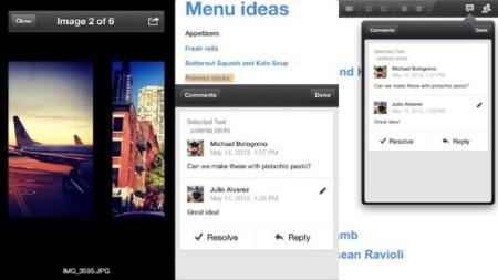 Google actualiza Drive para iOS pero sin las nuevas funcionalidades que tiene en Android