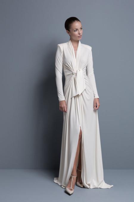 vestidos de novia colour nude: diseños únicos para un día tan especial
