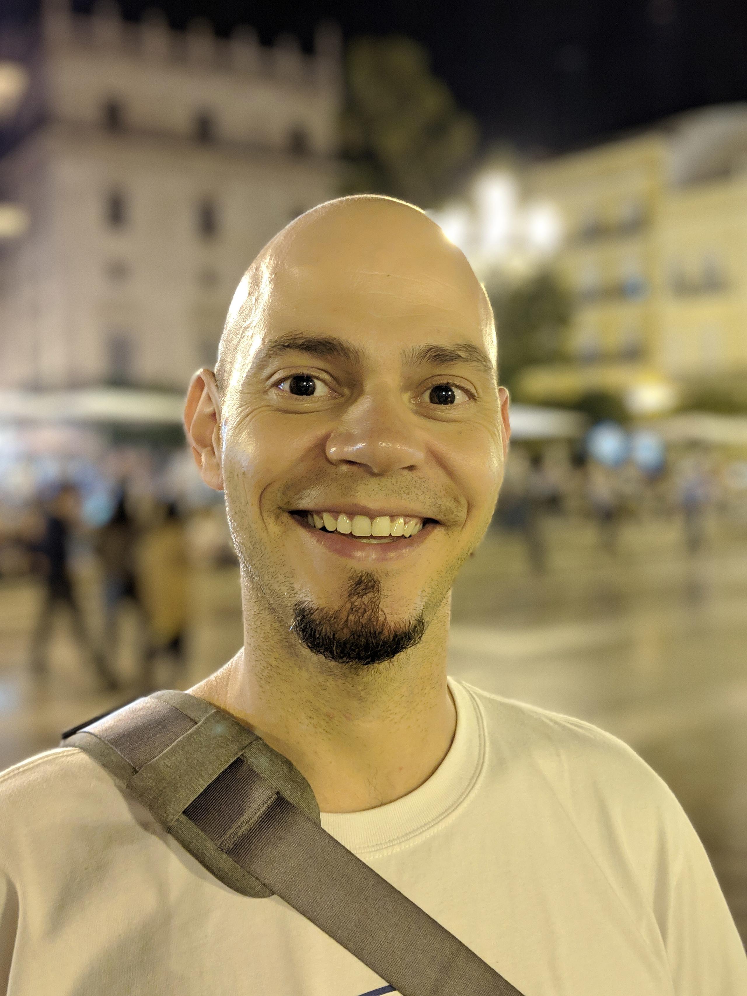 Pixel 3 XL, modo retrato con cámara trasera