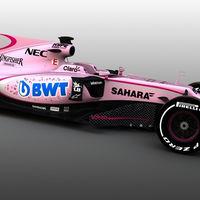 ¿Hasta dónde puede llegar un patrocinio? Force India tiñe el VJM10 de rosa