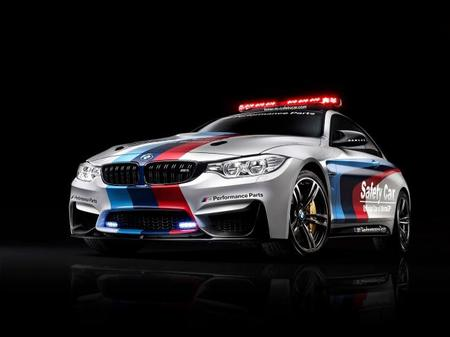BMW M4 Coupé, el nuevo Safety Car de MotoGP