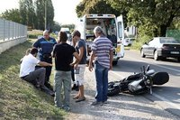 Accidente de la nueva Ducati Diavel