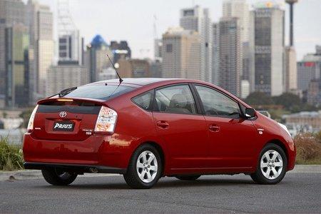 Gama de coches híbridos Toyota