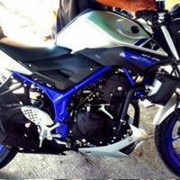 Primera imagen furtiva de la futura Yamaha MT-25