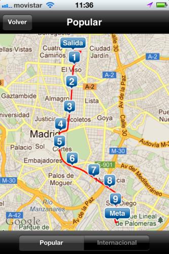 Entrénate para la San Silvestre Vallecana 2011 con Android o iOS