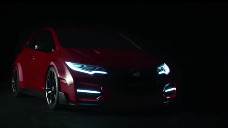 Honda Civic Type R: ahora, en vídeo (pero no mucho)