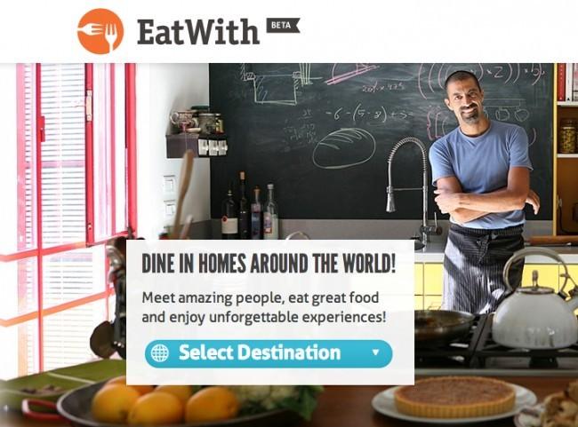 EatWith, AirBnb para las comidas