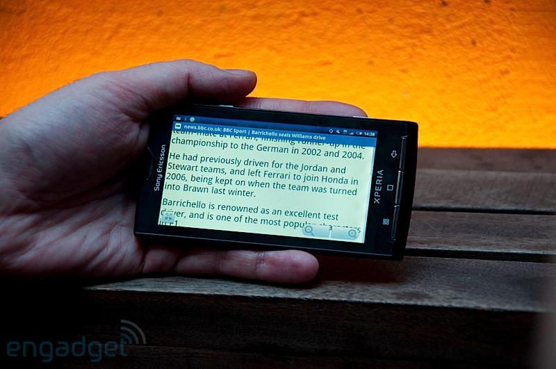 Foto de Sony Ericsson Xperia X10, diferentes medios (13/15)