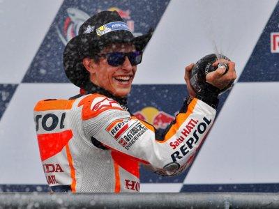 Con 52 precoces victorias en Grandes Premios, Marc Márquez consigue empatar con Phil Read