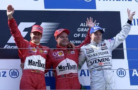 Schumacher Nurburgring F1 2002