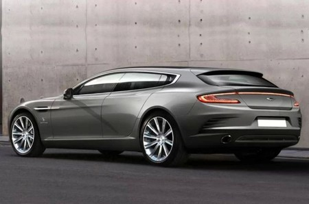 Aston Martin rapide-shooting-brake rear