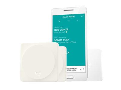 Logitech POP Home, un botón que facilita gestionar los dispositivos de toda la casa