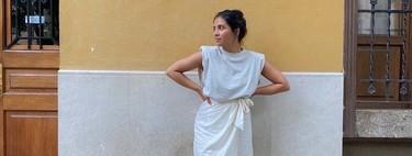 Siete faldas midi cruzadas de las rebajas de Asos que te acompañarán todo el verano y que podrás llevar en otoño con medias