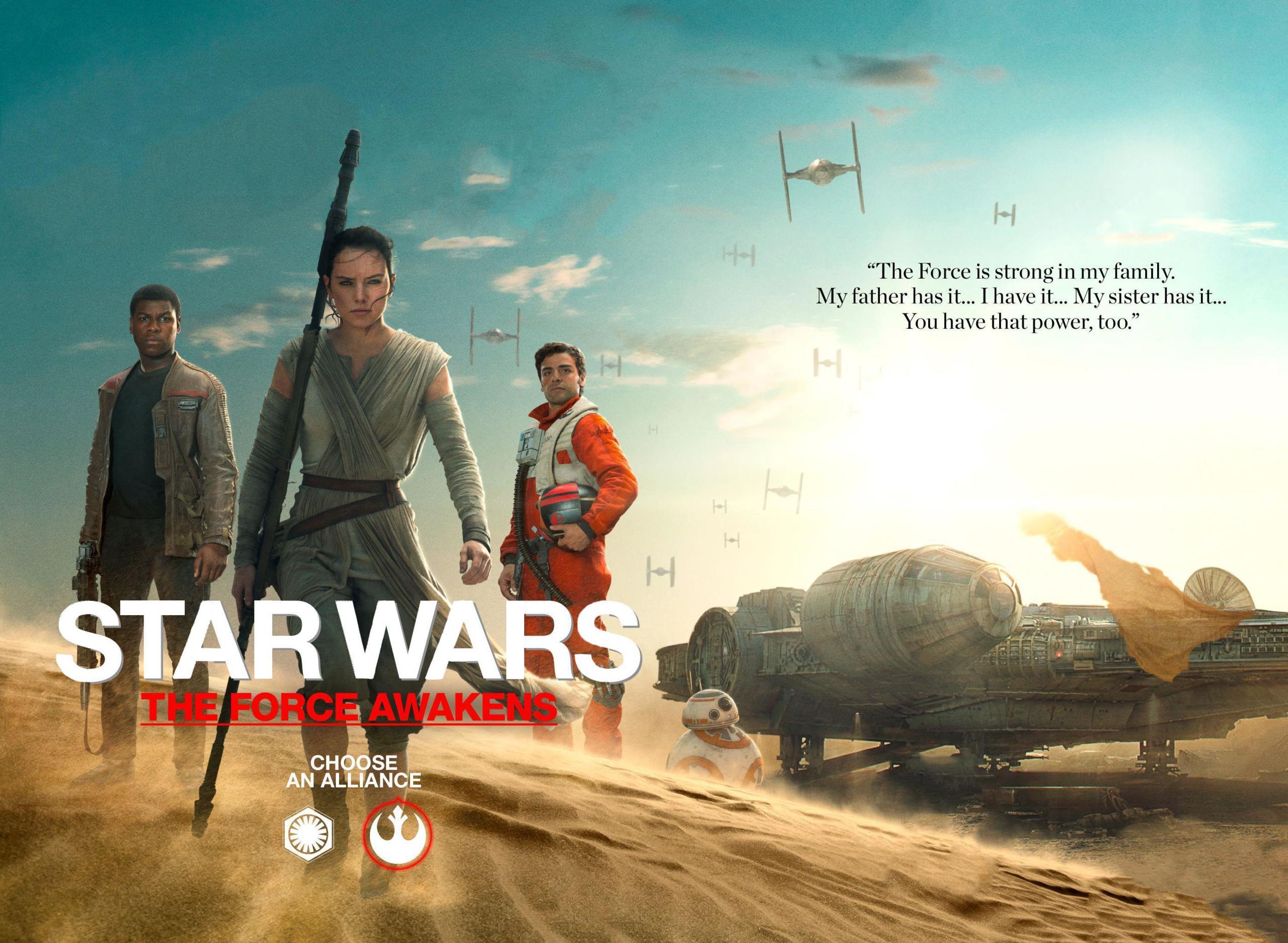 Foto de Los protagonistas de 'Star Wars: El despertar de la fuerza' (17/17)