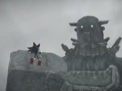Shadow the Hedgehog of the Colossus, así es el cruce más loco entre el rival de Sonic y los colosos