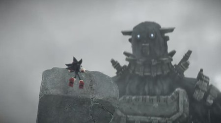 Shadow the Hedgehog of the Colossus, así es el cruce más loco entre el rival de Sonic y los colosos
