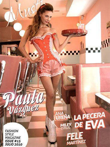 Y la nueva portada de Must! Magazine es... ¡Paula Vázquez!