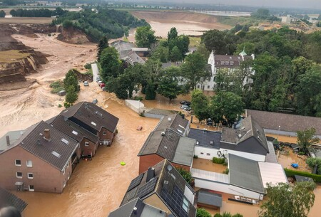 Pese a la catástrofe de Alemania, las inundaciones son cada vez menos desastrosas y mortales