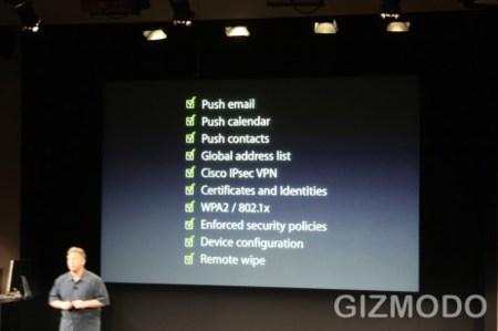 Novedades del iPhone para empresas