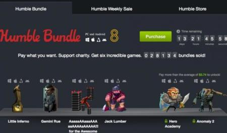 Humble Bundle 8, para Android y PC (Windows, Mac y Linux)