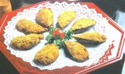 Tigres, mejillones rellenos by Thermomix