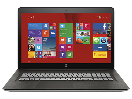Hp Envy 17 2015 Frontal