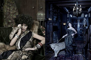 Georgina Chapman para Harper's Bazaar