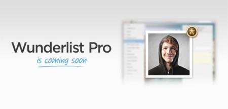 Wunderlist Pro, nueva versión centrada en el trabajo colaborativo