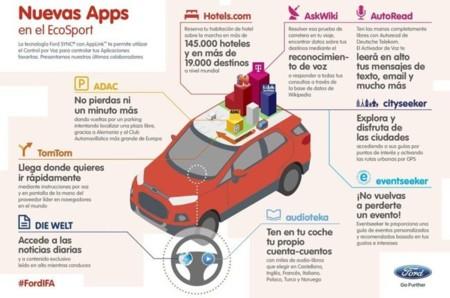 Nuevas aplicaciones Ford Sync AppLink IFA 2013