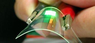 Paneles solares OLED