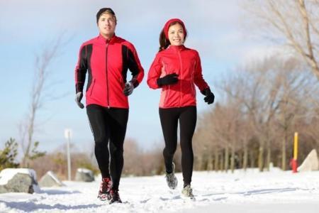 Las ventajas de salir a correr en invierno