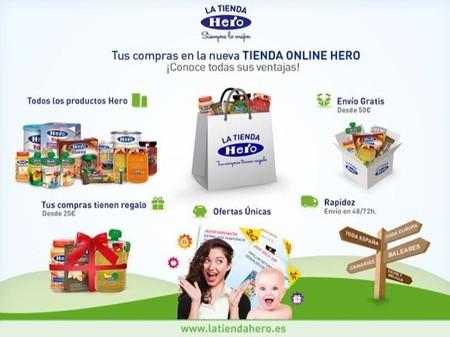 La marca de alimentación Hero lanza su propia tienda en Internet
