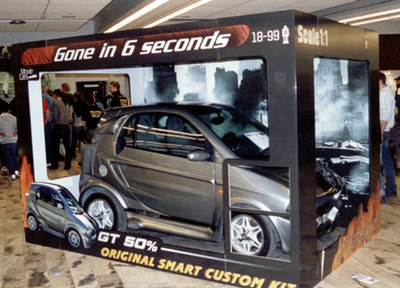 "Smart ForTwo GT 50%: ""Cariño, he encogido a Eleanor"""