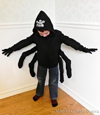 Disfraz Halloween Facil Barato Arana 4