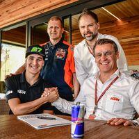 Iker Lecuona ficha por el equipo oficial de KTM en Moto2 y formará dúo español con Jorge Martín