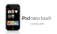 iPod nano Touch, más que probable