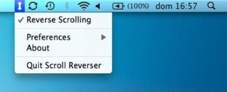 Scroll Reverser, modifica el sentido del scroll