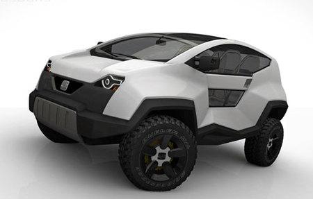 Seat Terranova: 4x4 de motores eléctricos