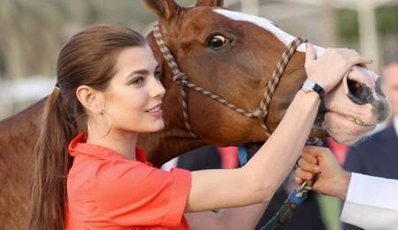 Polo Cartier Carlota Casiraghi