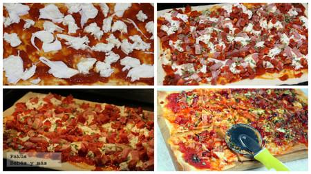 Pizza Choribacon Pasos