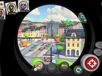 Snipers vs Thieves, un adictivo juego multijugador de atracos con elementos de Clash Royale